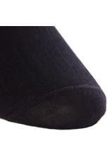 Dapper Classics Dapper Classics - Black Solid Ribbed - Merino Wool - OTC