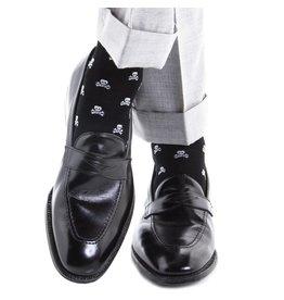 Dapper Classics Dapper Classics - Black with White Skull and Crossbones - Cotton - OTC