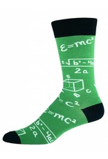 Socksmith Socksmith - Math - Green - MNC415 - Crew - Men's