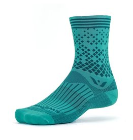 Swiftwick Swiftwick - Vision - FIVE - Elevate - Teal Gray