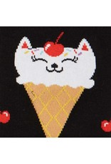 Sock It to Me Sock It To Me - Kitty Cone - F0411 - Knee High - Women's
