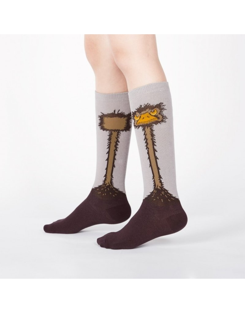 Sock It to Me Sock It to Me - Ostrich - 0084 - Knee High - Kids