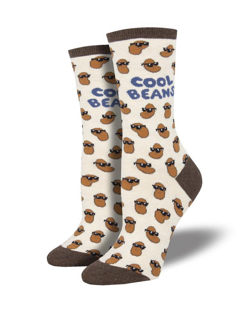 Socksmith Socksmith - Cool Beans - Ivory Heather - WNC1870 - Crew - Women's