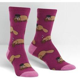 Sock It to Me Sock It to Me - Plati-tude - W0214 - Crew - Women's