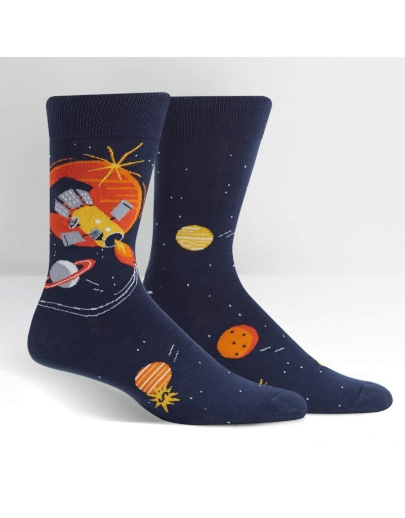 Sock It to Me Sock It to Me - Fly Me To The Sun - MEF0404 - Crew - Men's