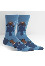Sock It to Me Sock It to Me - Platypus - MEF0373 - Crew - Men's