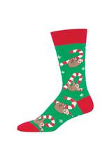 Socksmith Socksmith - Merry Slothmas - Green - MNC1849 - Crew -  Men's