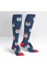 Sock It to Me Sock It To Me - Santa Claws - F0450 - Knee High - Unisex