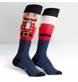 Sock It to Me Sock It To Me - Funky Nutcracker - F0176 - Knee High - Unisex