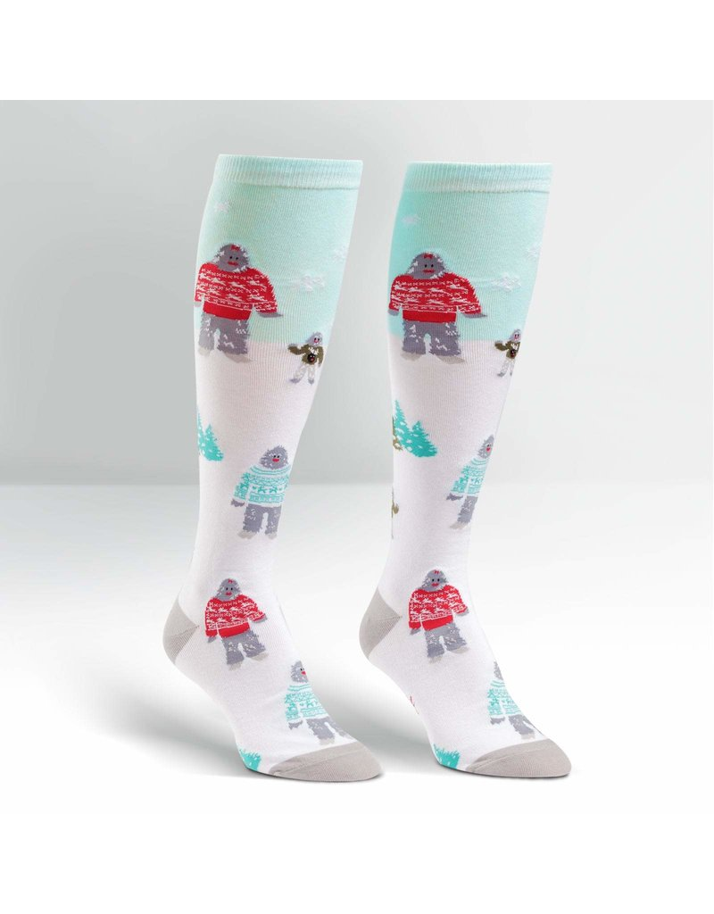 Sock It to Me Sock It To Me - Yeti Family - F0276 - Knee High - Unisex