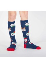 Sock It to Me Sock It To Me - Santa Claws - Knee High - Kids