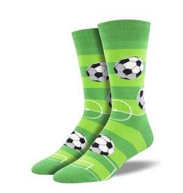 Socksmith Socksmith - Goal For It - Green - MNC1999 - Crew - Men's