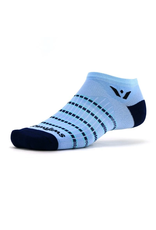Swiftwick Swiftwick - Aspire - ZERO - Sky Blue/Navy Stripe