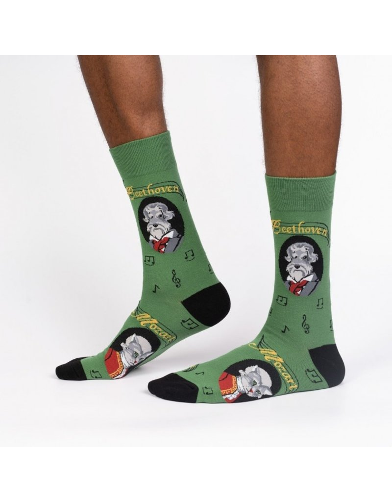 Sock It to Me Sock It to Me - A Tail of Two Composers - MEF0424 - Crew - Men's