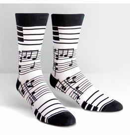Sock It to Me Sock It to Me - Foot Notes - MEF0149 - Crew - Men's