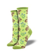 Socksmith Socksmith - Relaxed Rabbit - Green - WNC2013 - Crew - Women's
