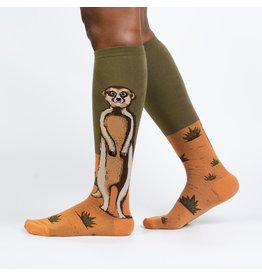 Sock It to Me Sock It to Me - Meerkat Manner - F0504 - Knee High - Unisex