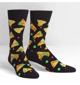 Sock It to Me Sock It to Me - Nacho, Nacho Man - MEF0318 - Crew - Men's