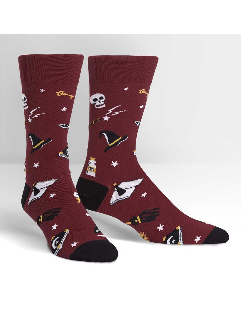 Sock It to Me Sock It to Me - Spells Trouble - MEF0325 - Crew - Men's