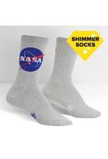 Sock It to Me Sock It to Me - Titanium - W0271 - Crew - Women's