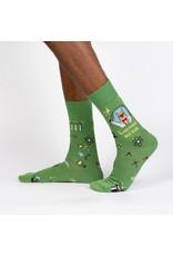 Sock It to Me Sock It to Me - Trust Me, Llama Scientist - MEF0422 - Crew - Men's