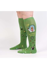 Sock It to Me Sock It to Me - Trust Me, Llama Scientist - Wide Calf - S0103 - Knee High - Unisex