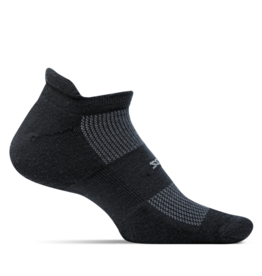 Feetures Feetures - High Performance - Cushion - No Show Tab - Black - Unisex