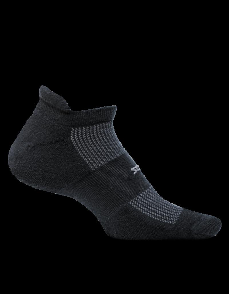 Feetures Feetures - High Performance - Cushion - No Show Tab - Black - Unisex