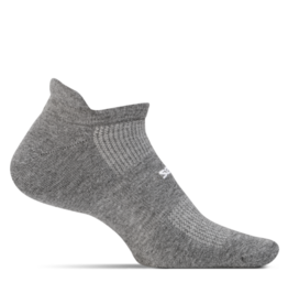 Feetures Feetures - High Performance - Cushion - No Show Tab - Heather Gray - Unisex