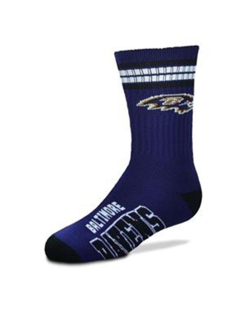 FBF FBF - 4-Stripe Deuce - Baltimore Ravens - Youth
