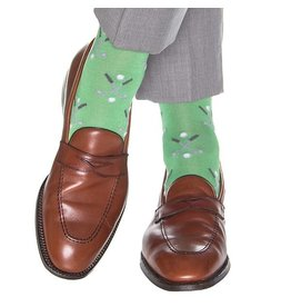 Dapper Classics Dapper Classics - Grass Green with Steel Gray/Ash/White Gold Club/Ball - Cotton - OTC