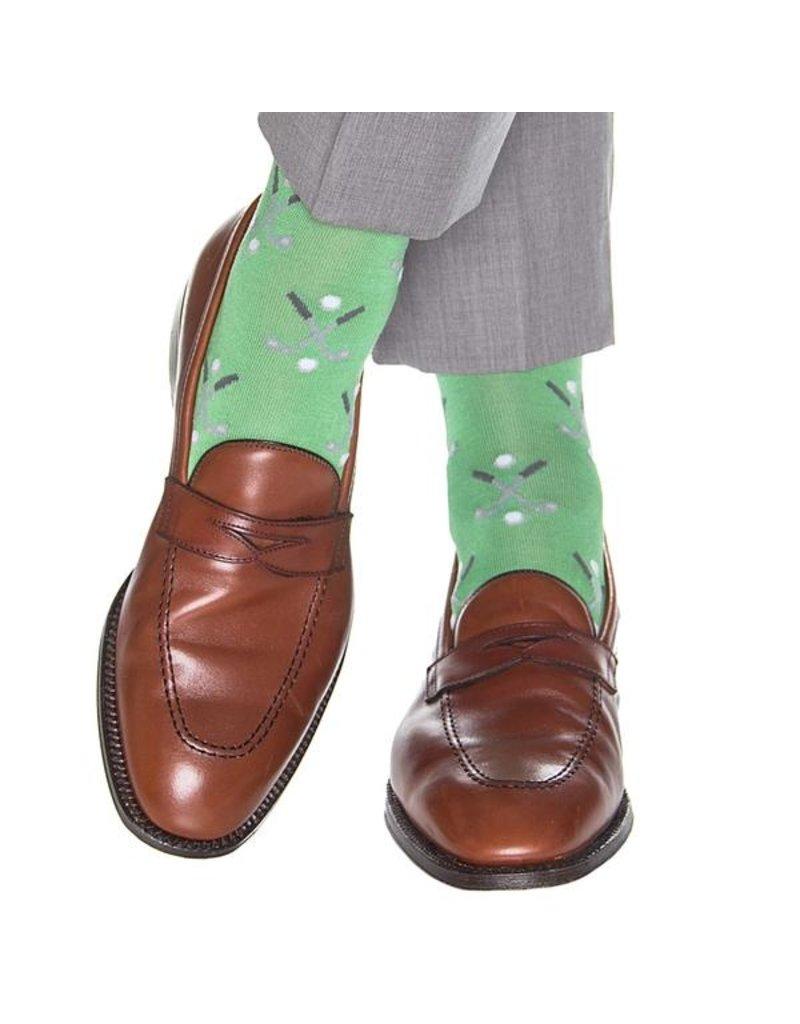 Dapper Classics Dapper Classics - Grass Green with Steel Gray/Ash/White Gold Club/Ball - Cotton - OTC