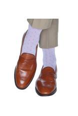 Dapper Classics Dapper Classics - Lavender with Royal Purple Pin Dot - Cotton - OTC