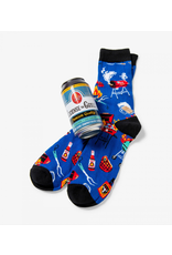 Little Blue House Little Blue House - License to Grill - Beer Can Sock - Men's