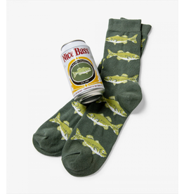 Little Blue House Little Blue House - Nice Bass - Beer Can Sock - Men's