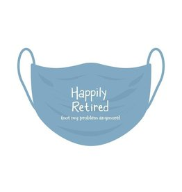 Funatic Funatic - Happily Retired - Mask - One Size