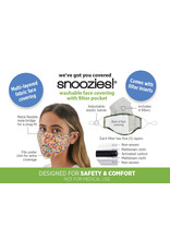 Snoozies - Paint Splatter - Mask - One Size