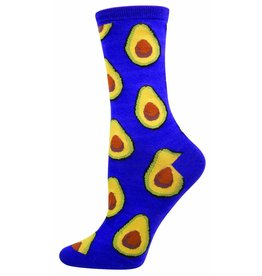 Socksmith Socksmith - Avocado - Grape - SSW1384 - Crew - Women's