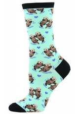 Socksmith Socksmith - Significant Otter - Blue Chalk - WNC581 - Crew - Women's