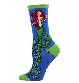 Socksmith Socksmith - Mermaid - Sea - WNC690 - Crew - Women's