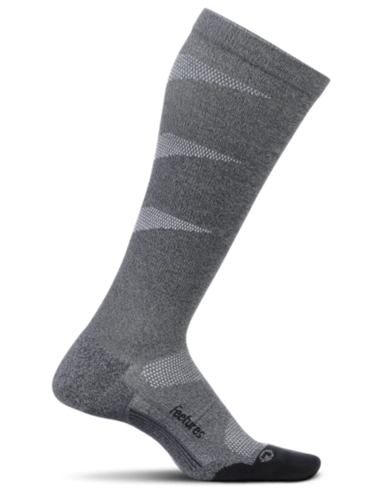 Feetures Feetures - Elite - Light Cushion - Graduated Compression Knee High - Gray - Unisex