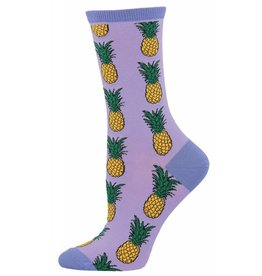 Socksmith Socksmith - Pineapple - Lavender - WNC578 - Crew - Women's