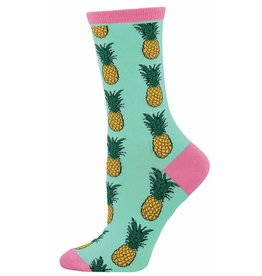 Socksmith Socksmith - Pineapple - Wintergreen - WNC578 - Crew - Women's