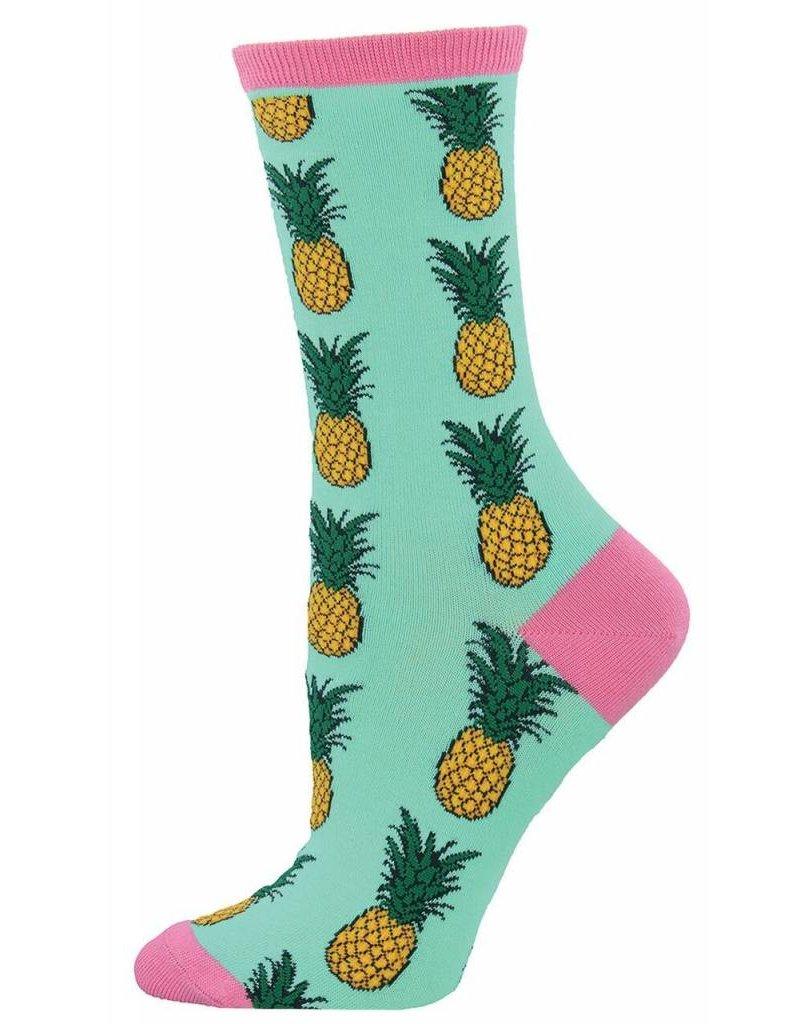 Socksmith Socksmith - Pineapple - Wintergreen - WNC578 - Crew - Women's