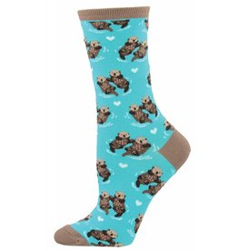 Socksmith Socksmith - Significant Otter - Bright Blue - WNC581 - Crew - Women's