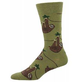 Socksmith Socksmith - Sloth - Olive - SSM1372 - Crew - Men's