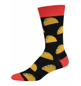Socksmith Socksmith - Tacos - Black - MNC524 - Crew - Men's