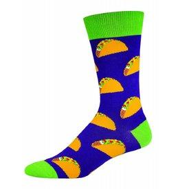 Socksmith Socksmith - Tacos - Purple - MNC524 - Crew - Men's
