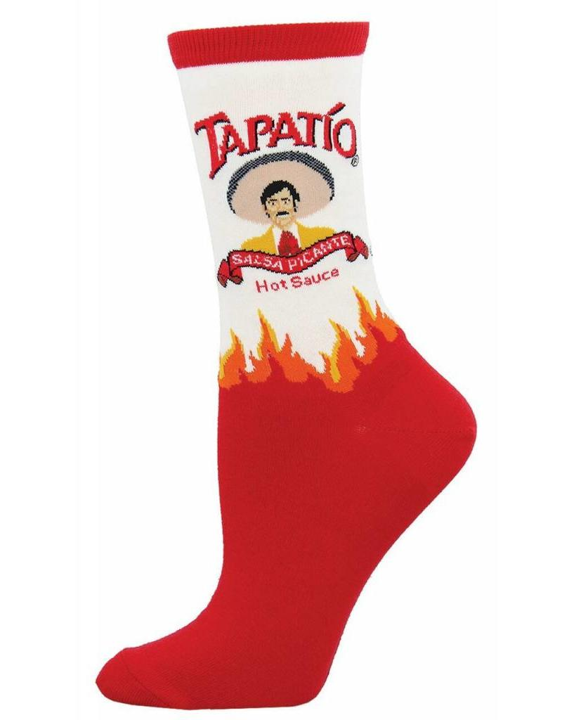 Socksmith Socksmith - Tapatio - White - WNC624 - Crew - Women's