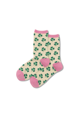 Hot Sox Hot Sox - Clover - Oatmeal Heather - HOH00038 - Crew - Women's